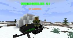 Snowmobiles V.1 Datapack for MC 1.13+ Minecraft Data Pack