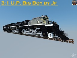 The WORLD'S LARGEST STEAM LOCOMOTIVE - UP BIG BOY by JF Minecraft Map & Project