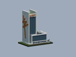 WEST Residential Skyscraper Minecraft Map & Project