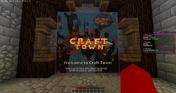 [Towny] [1.13 - 1.14] Craft Town [Bosses] [Free Ranks] [Events] Minecraft Server