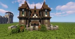 Cheydinhal House #1 OBLIVION Inspiration Minecraft Map & Project