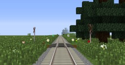 Noshiro Flats Railway (Real Train Mod) Minecraft Map & Project