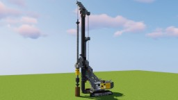 Liebherr Rotary Drilling Rig Minecraft Map & Project