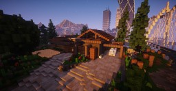 ECO Modern House   Capitol Minecraft Map & Project