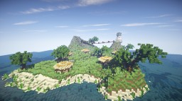 An Island Minecraft Map & Project