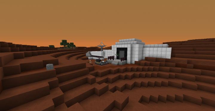 Mars Base [Modded] Minecraft Project