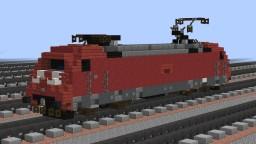 [1.5:1] ADtranz DB BR101 electric locomotive Minecraft Map & Project