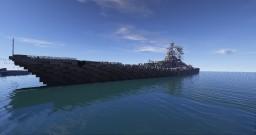 Project 24 Battleship Kremlin Minecraft Map & Project