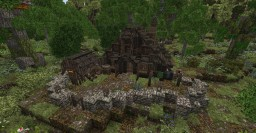 Small Medieval Village House Minecraft Map & Project