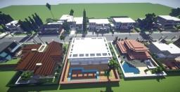 Modern Neighborhood 3 Minecraft Map & Project