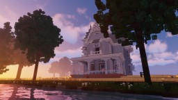 George Franklin Barber Victorian House [2:1] Minecraft Map & Project