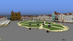 Timisoara, Romania 1:1 scale Minecraft Map & Project