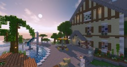Suburban House - Island Project Minecraft Map & Project