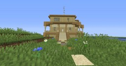 1Bed/1Bath Beach House Minecraft Map & Project
