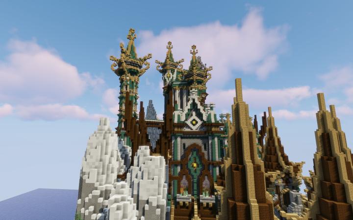 Castle Upper Buildings
