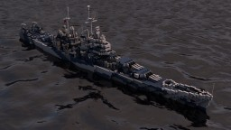 USS Baltimore (CA-68) Minecraft Map & Project