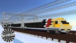British Rail Class 370 APT-P Minecraft Map & Project