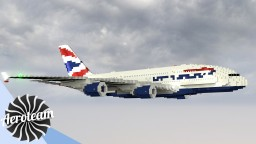 Airbus A380 | DOWNLOAD Minecraft Map & Project