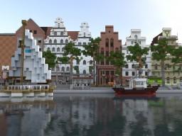 Lübeck Obertrave Minecraft Map & Project