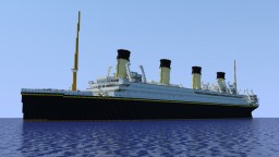 RMS Britannic Minecraft Map & Project