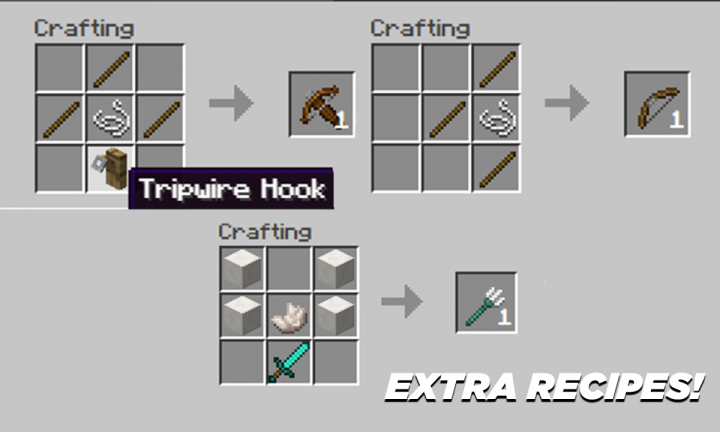 Extra Recipes for Easier Crafting!