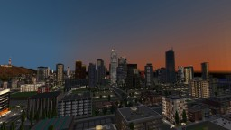 Map Los Angeles in progress Minecraft Map & Project