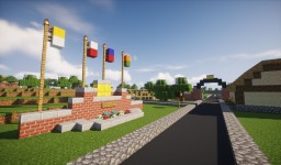 Michael Jackson's Neverland Valley Ranch Minecraft Map & Project
