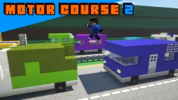 Motor Course 2 Minecraft Map & Project
