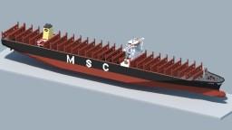 MSC Oscar Minecraft Map & Project