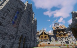 Tyros - A Medieval Town Minecraft Map & Project