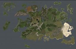 27Kx17K fantasy map terrain Minecraft Map & Project