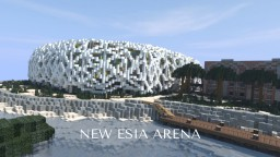 NEW ESIA ARENA Minecraft Map & Project