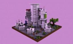 A FUTURISTIC RESEARCH CENTER Minecraft Map & Project