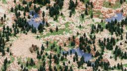 Sawmill Valley - 2000 x 2000 custom terrain 1.13 - 1.14 Minecraft Map & Project