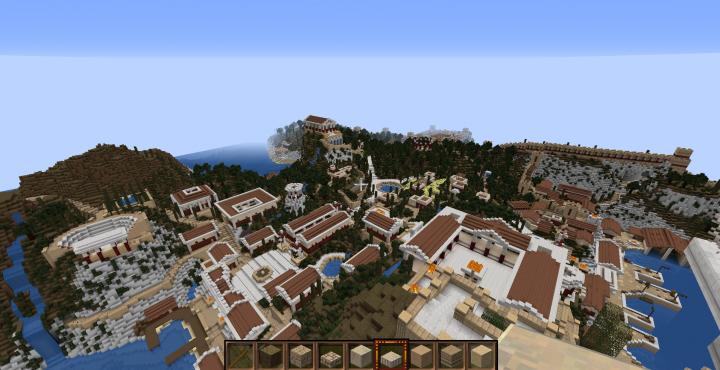 Island of Demeter city