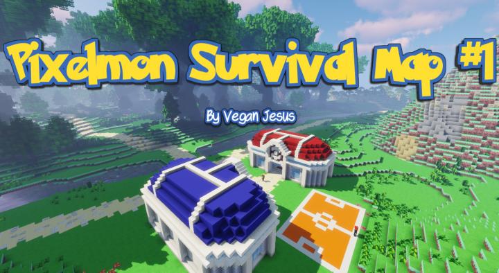Pixelmon Survival Map #1 Minecraft Project