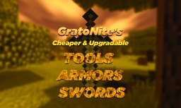 Cheaper & Upgradable Tools, Weapons & Armors! Minecraft Data Pack