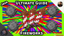 Ultimate Guide to Fireworks | Minecraft 1.14+ | Idea's and tutorials (World Download) Minecraft Map & Project