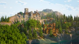 Windstone Castle - Medieval Town Minecraft Map & Project