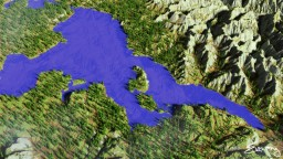 Yellowstone Lake [Custom Terrain] Minecraft Map & Project