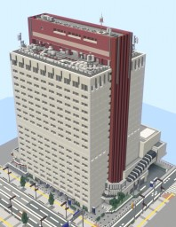 Japan's medium-sized building Minecraft Map & Project