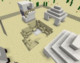 Desert Mission Minecraft Map & Project