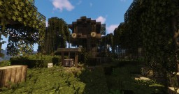Small Fantasy Witch Shack Minecraft Map & Project