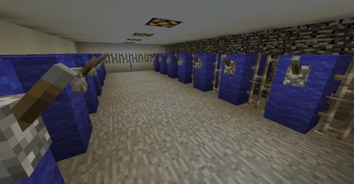 Unit 4 water valve room below reactor