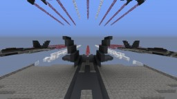 CF-18 Canada Day Minecraft Map & Project