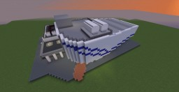 Jurassic World Evolution Fossil Center Minecraft Map & Project