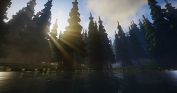 Old Timberland Woods - 500 x 500 Fantasy Map Minecraft Map & Project