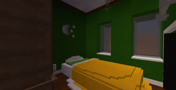Bedroom at a different angle