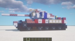 4th of July Tank - United States Minecraft Map & Project