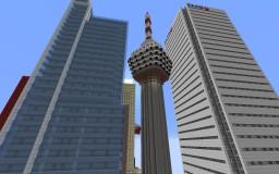 Kuala Lumpur Tower Minecraft Map & Project